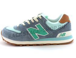 Мужские кроссовки New Balance 574 Green/Gray