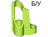 ! Б/У - Technic, Panel Fairing # 5 Small Short, Large Hole, Side A, Lime (32527 / 4501004) - Б/У