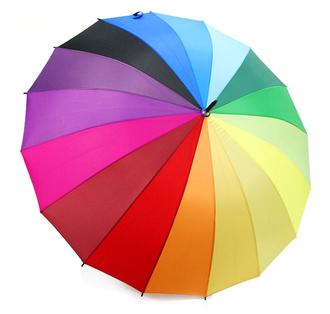 зонт, зонтик, радга, разноцветный, многоцветный, радужный, от дождя, umbrella, зонт от солнца, 24