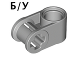 ! Б/У - Technic, Axle and Pin Connector Perpendicular, Light Bluish Gray (6536 / 4211775) - Б/У
