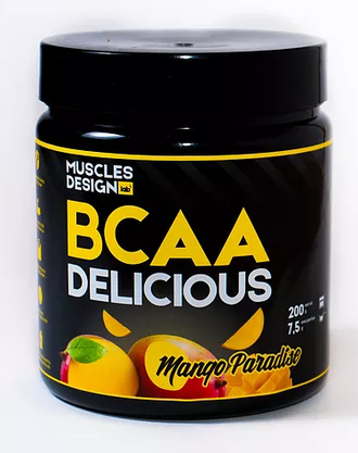 BCAA Delicious (200 гр)MUSCLES DESIGN lab