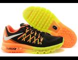 Nike Air Max 2015 мужские оранжево-черные (40-44)