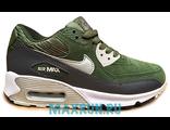 Кроссовки Nike Air Max 90 зеленые