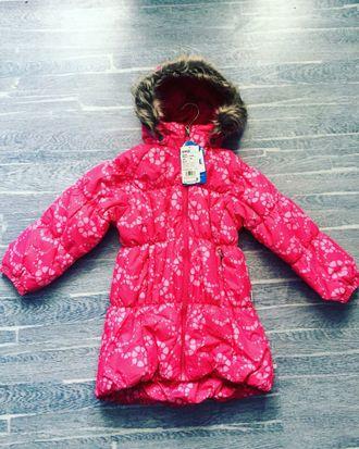 Зимнее мембранное пальто Lassie by Reima цвет Bright Pink