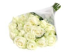 11 белых роз Софит