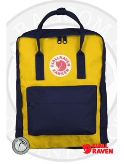 Рюкзак Fjallraven Kanken Navy/Warm Yellow (560/141)