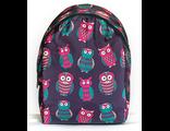 Подростковый городской рюкзак с совами для девочек SLA00107