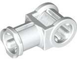Technic, Axle Connector with Axle Hole, White (32039 / 4144128 / 6310906)