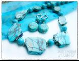 Магазин украшений. Колье и серьги из варисцита. Купить украшения. Украшения из натуральных камней.