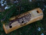 Wooden ocarina in C