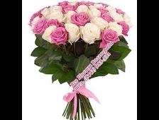 45 роз букет Нежный Перелив