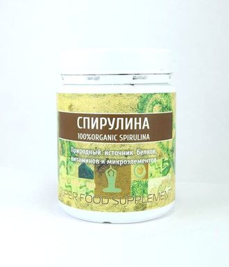 Спирулина порошок (Spirulina) Indian Bazar, 100 гр
