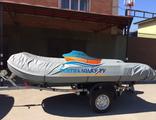 Тент транспортировочный (стояночный) на надувную лодку ПВХ длиной 330, 340, 350,355 см