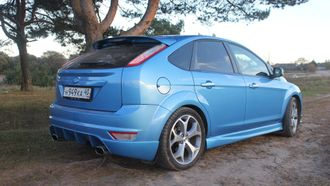Пороги для Ford Focus 2 (Lord)