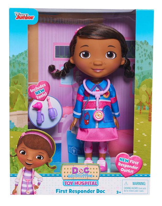 Кукла доктор Плюшева / Just Play Mcstuffins Doc Doll First Responder