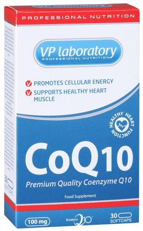 Coenzyme Q10 (30 капсул)VP Lab
