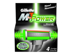 Gillette M3 Power - 4 шт.