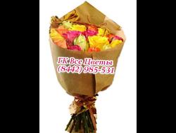 Элитная роза (15 шт) микс букетом