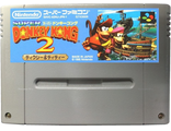 """Donkey Kong 2"" in box, Игра для Nintendo Super Famicom NTSC-Japan"