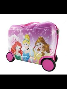 Детский чемодан на 4 колесах Принцессы Дисней / Disney Princess (Три 3 принцессы) - 4