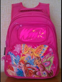 рюкзаки с символикой  ВИНКС - WINX club.