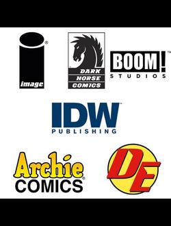 Комиксы других издательств