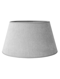 Абажур льняной LAMPSHADE FEB GREY D34H19CM POLYESTER 30255