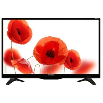 "Телевизор (ЖК) 24"" Telefunken TF-LED24S62T2 Black (50Hz,HD, DVB-T2, 100×100.USB-Video)"