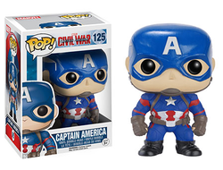Funko Pop! Civil War: Capitan Ameica