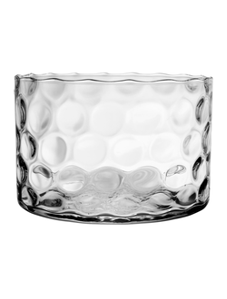 Ваза CUP CLARIERE D22XH14.5CM GLASS 33349