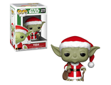 Фигурка Funko POP! Bobble: Star Wars: Holiday: Santa Yoda