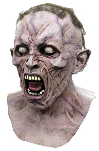 страшная, маска, кричащий, зомби, мутант, монстр, реалистичная, ужасная, латекс, латексная