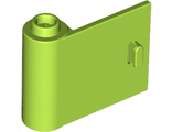 Door 1 x 3 x 2 Left - Open Between Top and Bottom Hinge (New Type), Lime (92262 / 6146892)