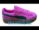 Кроссовки Puma By Rihanna вишневые