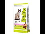 DADO корм для взрослых кошек, с уткой, 2 кг, производство Италия