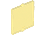 Glass for Window 1 x 2 x 2 Flat Front, Trans-Yellow (60601 / 6013709 / 6315923)