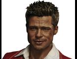 ПРЕДЗАКАЗ Тайлер в красной куртке - коллекционная фигурка 1/6 Fight Club BW-FC00324 Red Jacket Ver - BLITZWAY