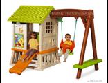 Купить детский домик, горка детская пластиковая, детские игровые комплексы, детские песочницы Smoby