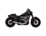 27623 Vance&Hines STAINLESS 2-INTO-1 UPSWEEP M8 Softail Fat Bob 18+