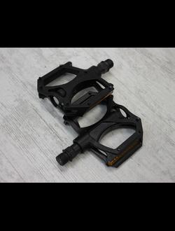 Педали Wellgo М195, MTB, алюминиевые 100х100х26,2 мм, чёрные