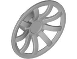 Wheel Cover 9 Spoke - 24mm D. - for Wheel 55982, Pearl Light Gray (62701 / 4527058)