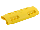 Technic, Panel Curved 11 x 3 with 10 Pin Holes through Panel Surface, Yellow (11954 / 6022952)