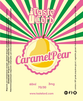 CaramelPear 60ml