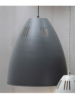 Cavendish Vented Pendant, Large in Chalk - Steel   цвет Древесный уголь   арт.LCB12
