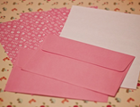 """Набор для письма """"Орнаменты"""" (розовый)"""