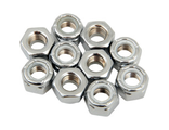 DS-190526 DRAG SPECIALTIES NYLON INSERT NUT 5/16-18 CHROME