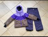 Зимний мембранный горнолыжный костюм Progress by Reima цвет Violet Brown