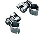 "7944 Kuryakyn Выносные подножки Peg Mounts with 1-1/4"" Magnum Quick Clamps, Chrome"