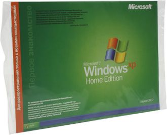 ОС Microsoft Windows XP Home Edition SP2/SP3 OEM N09-02342 / N09-01178