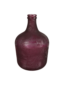 Ваза VASE 12L CHAI PURPLE D27X42CM GLASSарт.32203